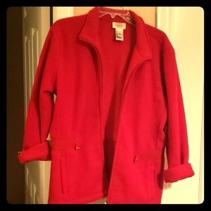 Talbot's Large Red Jacket